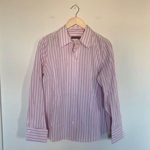 3/19🌽 Izod Silver Crest Striped Career Shirt